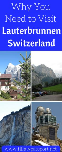 Switzerland has many beautiful destinations, but Lauterbrunnen Switzerland is a MUST for any Switzerland vacation. We will tell you why we loved our trip to Lauterbrunnen, Switzerland so much and why we recommend you see it for yourself! Don't forget to save these things to do and see in Lauterbrunnen, Switzerland to your travel board so you can find them later.