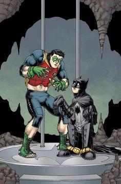 Batman & Robin print by Chris Burnham