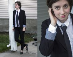 The Formal Tomboy - Flannel Foxes Tomboy Fashion Blog