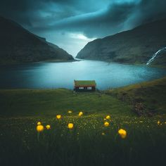 Scenic Landscapes of Faroe Islands - from - Travel Around The World, Around The Worlds, Nature Photography, Travel Photography, Portrait Photography, Best Landscape Photography, Outdoor Photography, Night Photography, Photography Tips