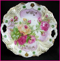 RS Prussia Related Cake Plate Cut Out Handles & Roses    http://www.ebay.com/itm/ws/eBayISAPI.dll?ViewItem&item=161090617543