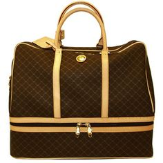 Signature+Duffle+Dome+Traveler+by+Rioni+Designer+Purses++Luggage