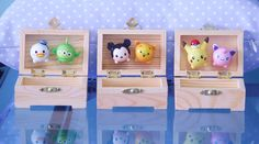 TSUM TSUM BOX Donald Duck and Toy Story Alien by BananaJamana I love this girl she is amazing and I love TSUM TSUM'S!!!