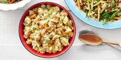 This potato salad gets a delicious spin with the help of another picnic classic. Recipe: Deviled Egg Potato Salad   - CountryLiving.com