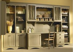 Craft room - Cottage style - Home and Garden Design Ideas - Closet Factory