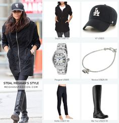 Steal Meghan Markle's street style for less Meghan Markle Outfits, Meghan Markle Style, Casual Summer Outfits, Cute Outfits, Casual Attire, Kate And Pippa, Weekend Wear, Comfy Casual, Royal Fashion