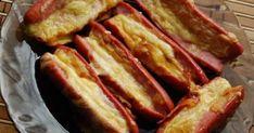 Сосиски с сыром на сковороде гриль с перцем Империя вкусов Bacon, Breakfast, Food, Morning Coffee, Essen, Meals, Yemek, Pork Belly, Eten