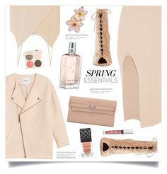 """""""Sunday"""" by marina-volaric ❤ liked on Polyvore featuring beauty, Maurie & Eve, Monki, Chelsea Flower, Hermès, Gianvito Rossi, L'Occitane, Gucci, Chantecaille and Victoria's Secret"""