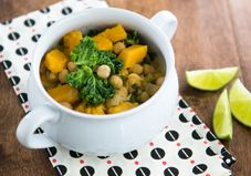 A hearty, protein-rich, vegetarian strew is a perfect  mid-week meal thats easy to throw together in less than 45 minutes flat.