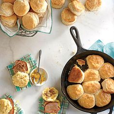 from Southern Living -- The Art of the Biscuit -- Flaky, buttery biscuits are cherished as a cornerstone of Southern cuisine. From comforting recipes to the best biscuit joints, we've got everything you need to get your biscuit fix.