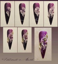 Nail art tutorial nailartangel.over-blog.com