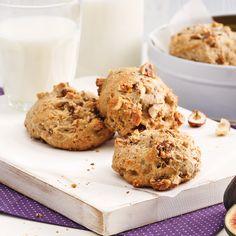 Bon Dessert, Raisin Cookies, Biscuit Cookies, Biscotti, Muffins, Healthy Snacks, Mousse, Oatmeal, Deserts