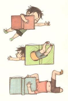 Playing with reading / Jugando con la lectura (ilustración de Noemí Villamuza)