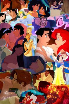 Disney couples!! Disney Cast, Disney Pixar, Walt Disney, Disney Couples, Disney Love, Disney Princesses, Disney Characters, Fictional Characters, Strawberry Fields