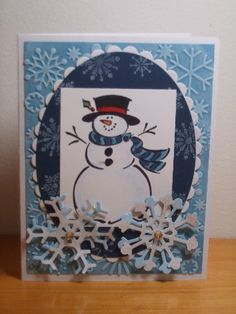 Frosty sketch by AnnetteMac - Cards and Paper Crafts at Splitcoaststampers