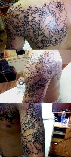 Pokemon Tattoo Sleeve; oh my fucking god yes. 8531 Santa Monica Blvd West Hollywood, CA 90069 - Call or stop by anytime. UPDATE: Now ANYONE can call our Drug and Drama Helpline Free at 310-855-9168.