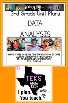 Spend less time prepping for your 3rd grade #math #lessonplans and more time teaching! (and going home early:) Here is a great bundle that includes stations, games, activities, teacher tools and everything you need for 5 days of math lessons! #3rdgrade #classroom #school #dataanalysis For more resources to simplify your teacher life, visit ipohlyinc.com!