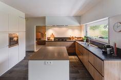 Keuken - combo hout wit