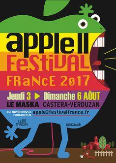 Troisième édition de l'Apple II Festival France (A2FF) - La troisième édition du festival aura lieu du 3 au 6 août 2017 grâce à l'association Silicium, accompagnée du Groupe Apple II France, de l'équipe du Maska et de nombreux amateurs et bénévoles.