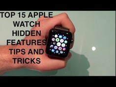 Top 15 Apple Watch Hidden Features, Tips & Tricks (DEC 2016!) - YouTube