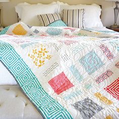 Moderne Pop Quilt Kit by Jocelyn Ueng