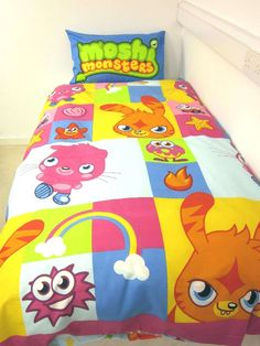 Moshi Monsters Moshi Monsters Bright Double Duvet Cover Set