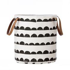 The trendy storage basket Half Moon from Ferm Living suits perfectly as a laundry basket or just as a neat storage basket. Combine the basket with other stylish products from Ferm Living. Choose between two sizes. Toy Storage, Storage Baskets, Storage Organization, Storage Crates, Kids Storage, Design Bestseller, Laundry Hamper, Laundry Bin, Laundry Room