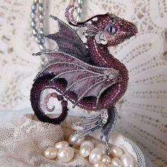 Les broches de dragons en perles de Alyona Lytvin  2Tout2Rien