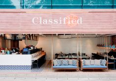 Enjoy the summer with design! This is the Restaurant Classified from Hong Kong.