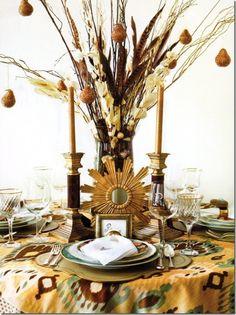 45 asombrosos Navidad decoraciones de mesa | DigsDigs