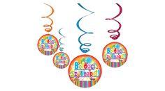Boldog szülinapot függő dekoráció színes lufis 6 db, Nicol Party Kellék Bolt 2nd Birthday, Snoopy, Fictional Characters, Art, Art Background, Kunst, Performing Arts, Fantasy Characters, 2nd Anniversary