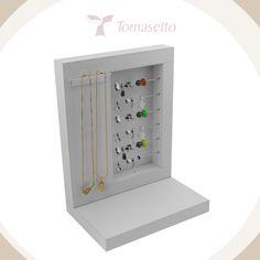 TOMASETTO ::.. Embalagens para Joias, Expositores para Jóias, Mostruários para jóias e Bijouterias