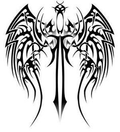 wings tattoo tribal - Buscar con Google