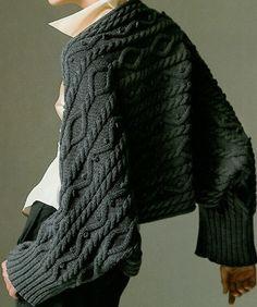 kışlık- patroon mesh BOLERO model - Nako - Ik Blogcu.co