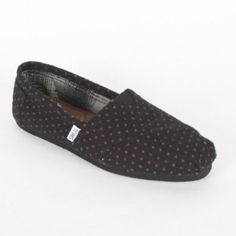 Toms - Womens Purple Dot Classic Shoes