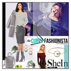 """""""The Sinuous Skirt"""" by classicfem ❤ liked on Polyvore featuring Sheinside and shein"""