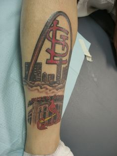 1000 images about st louis cardinals tattoos on for Tattoos st louis