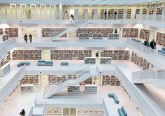 Mestská knižnica v Stuttgarte
