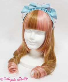 Lolibrary | Angelic Pretty - Hair accessories - Diner Doll Maid Style Head Bow