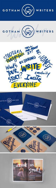 Very nice color scheme for the name of this company. I like the scripted handwriting used in the branding