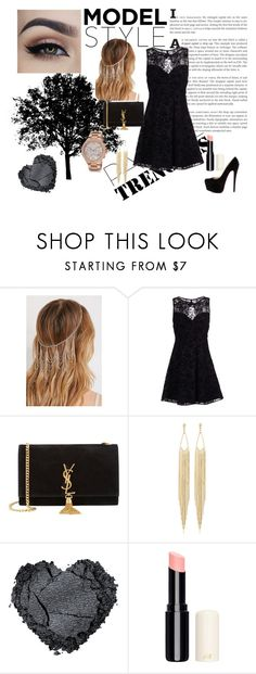 """""""Untitled #15"""" by eldinaaa-t ❤ liked on Polyvore featuring Forever 21, Alice + Olivia, Christian Louboutin, Yves Saint Laurent, Panacea, Michael Kors, women's clothing, women, female and woman"""