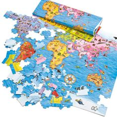 World Map Puzzle - All Toys - Toys & Gifts - gltc.co.uk