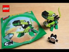 New LEGO Mixels Glurt 41519 Flash Stop Motion animation toy