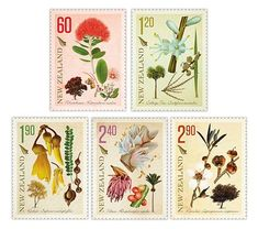 Botanic Botanic is an adjective related to botany, the study of plants. Botanic may also refer to: Botanical Drawings, Botanical Illustration, Botanical Prints, Postage Stamp Design, Nz Art, Plant Drawing, Love Stamps, Flower Stamp, Vintage Stamps