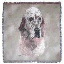 English Setter Throw English Setters, Cushions, Tapestry, Dogs, Gifts, Animals, Throw Pillows, Hanging Tapestry, Toss Pillows