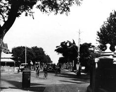 Adelaide Tce and St George's Tce meeting, Perth, 1920s