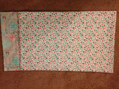 King size pillow case I made for Ayla to take to her new school. It's back to school in style for my sweet Cupcake!