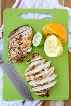 This Citrus Grilled Chicken is marinated in a delicious combo of orange, lemon, lime and garlic. Throw it on the grill or sear it in a cast iron and finish in the oven. It's perfect for a weeknight meal and it's especially good in wraps and salads. Citrus flavors are my favorite flavors. Whether it's …