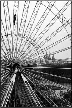 Tuileries Gardens. Paris, 1985