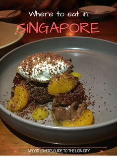 Where to eat in Singapore by She said, She said. All the must visit restaurants.